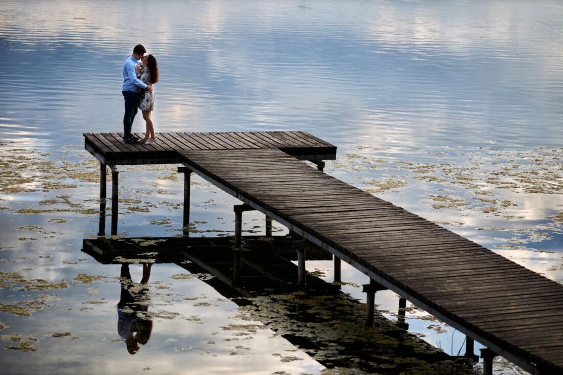 jezioro skulskie sesja narzeczenska 5