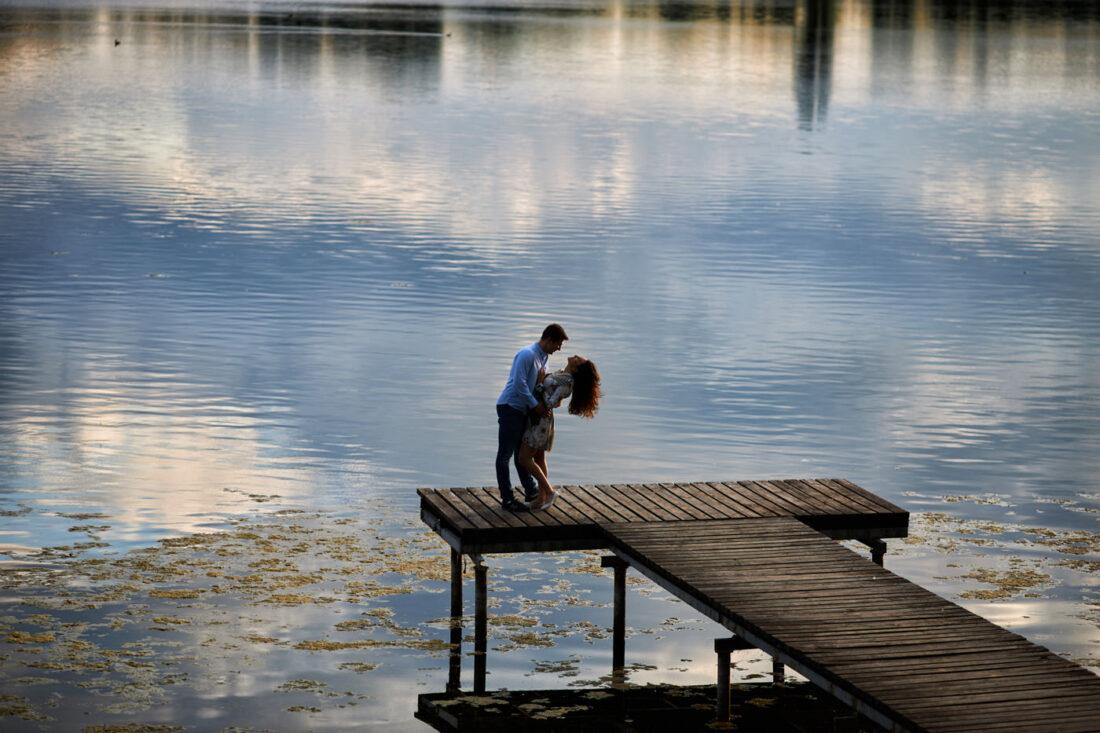 jezioro skulskie sesja narzeczenska 6